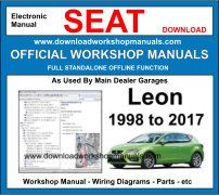 Seat Leon Service Repair Workshop Manual Download